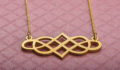 Gold Double Infinity