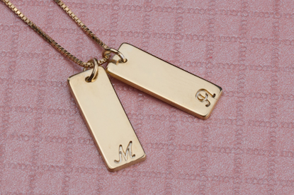 Two Bar Necklace