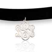 Monogram Choker Necklace
