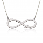 Infinity Name Necklace - Thumb