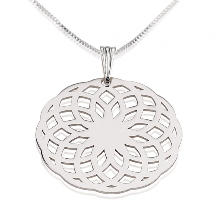 Sterling Silver Crop Circle Necklaces  - Picture 2