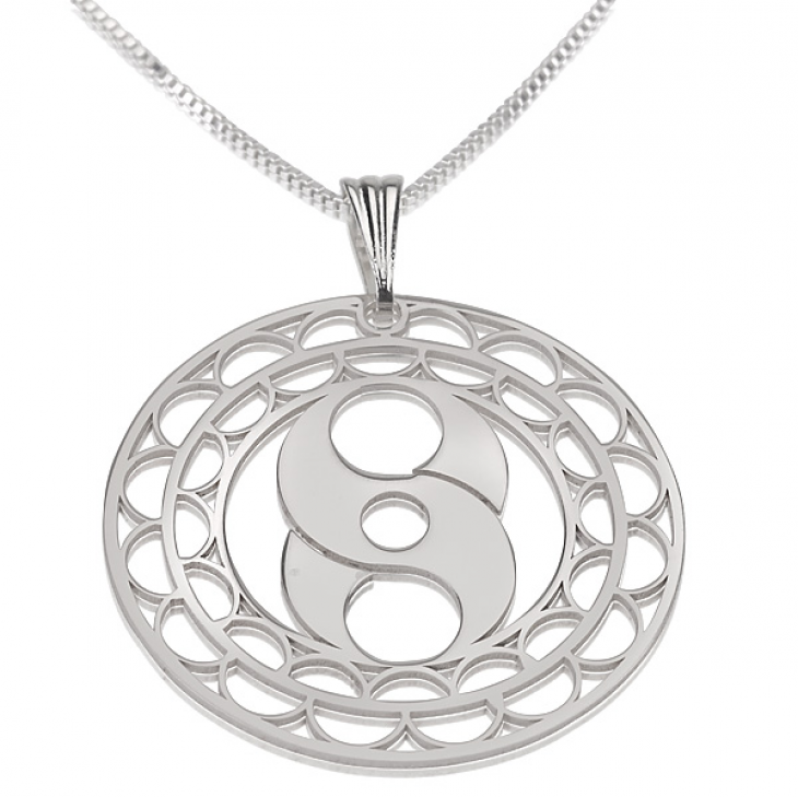 Sterling Silver Crop Circle Necklaces  - Picture 6