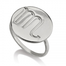 Sterling Silver Zodiac Ring