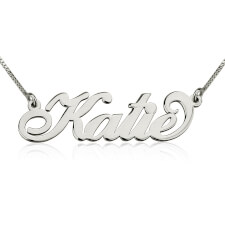 Carrie Name Necklace