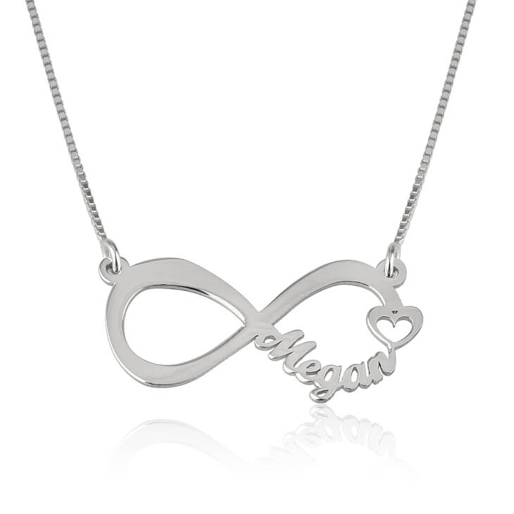 Jewelry symbols understanding their hidden meanings silver infinity necklace aloadofball Images