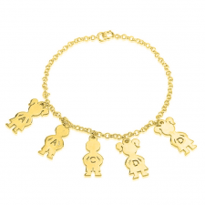 24K Gold Plated Mom Bracelet