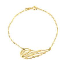 24k Gold Plated Wing Bracelet
