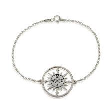 Cut Out Compass Bracelet