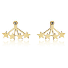 Star Ear Jacket in Gold Plating