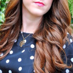 24k Gold Plated 2 Letters Capital Monogram Necklace - How it looks in reality - Thumbnail - 2